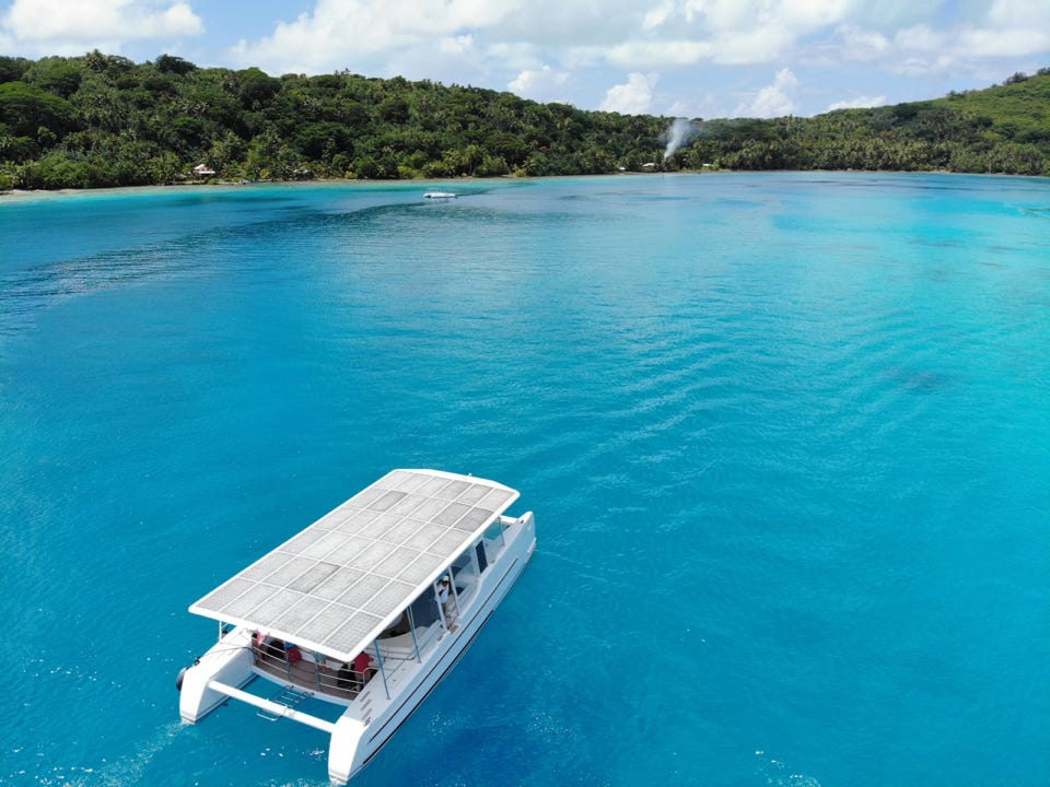 Pearl Beach Solar Powered Catamaran